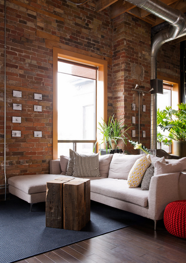 Amazing Industrial Living Rooms