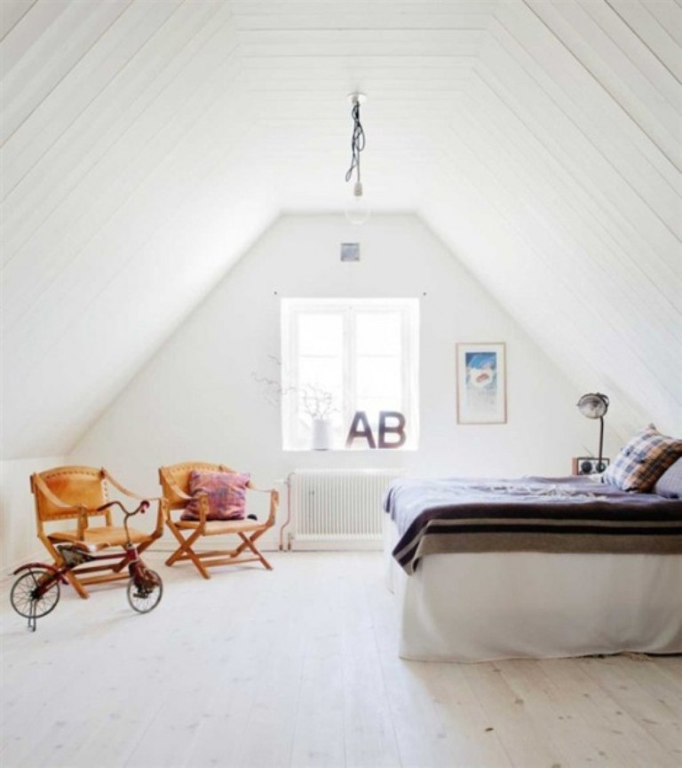 Classic Scandinavian Bedroom