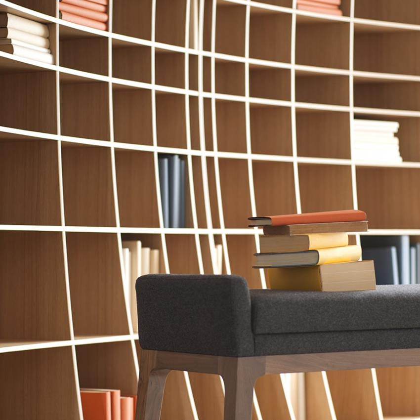 Concave Bookcase by Simon Pengelly for Joined + Jointed (3)