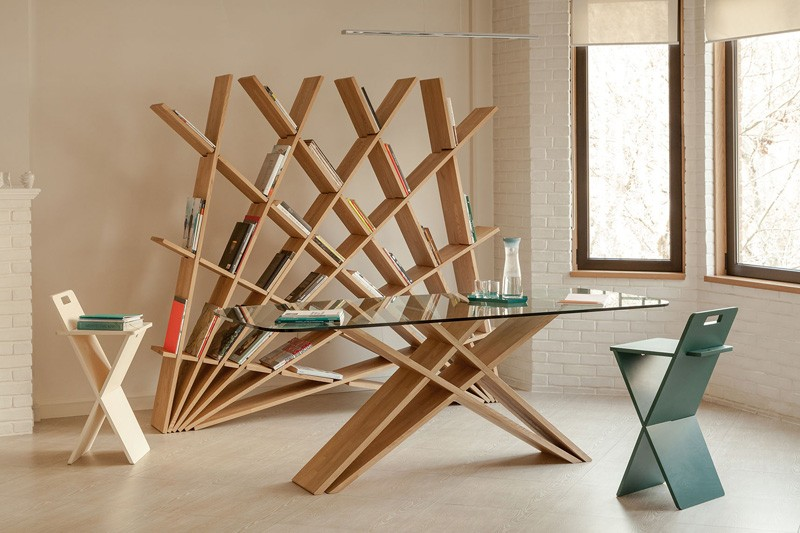 Creative-sculptural-bookshelf