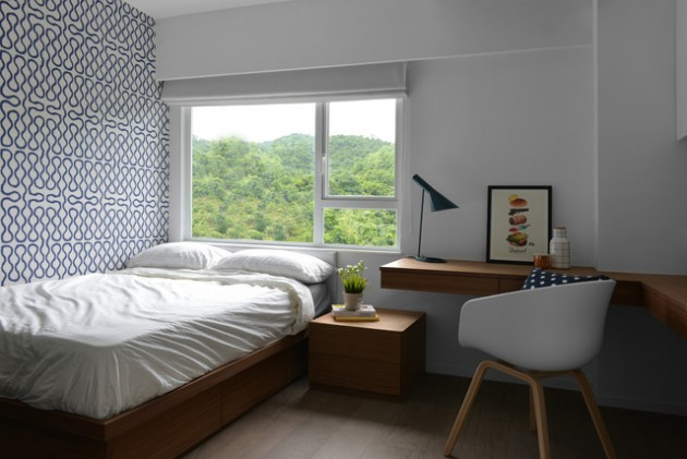 Gorgeous Scandinavian Syle bedroom