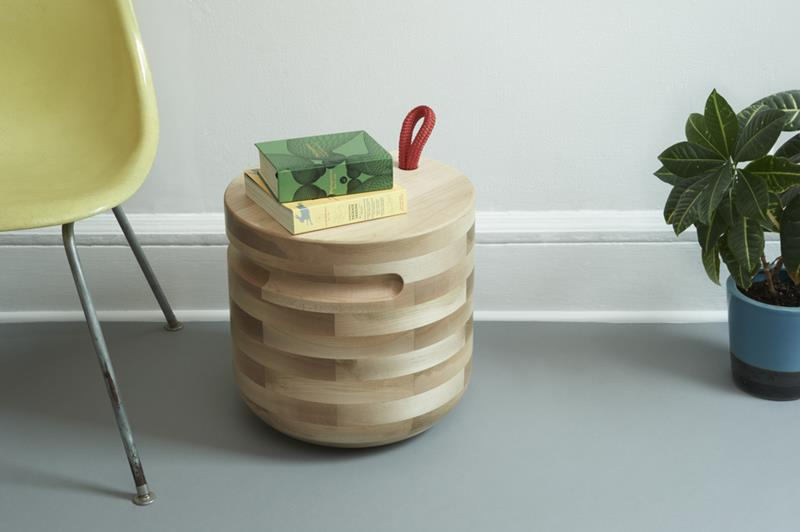 Plug Side Table by Savage Works (1)