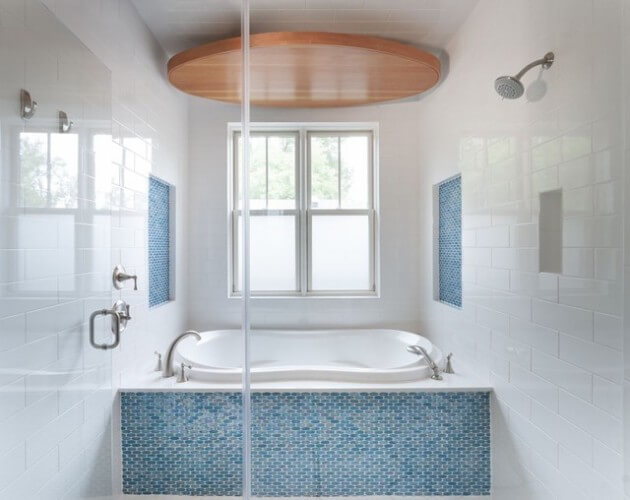 blue tiles for bathroom