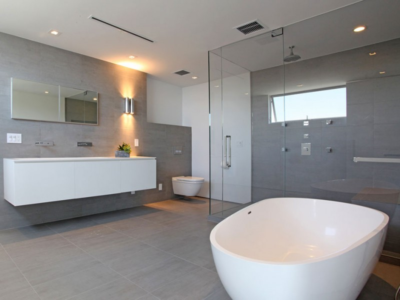 Bathroom, Amazing Views from 8320 Grand View Drive