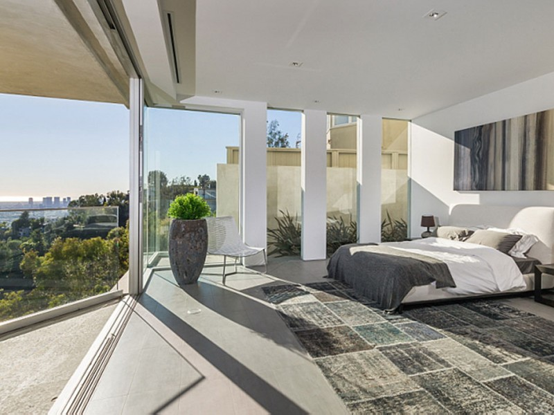 Bedroom with view, Amazing Views from 8320 Grand View Drive