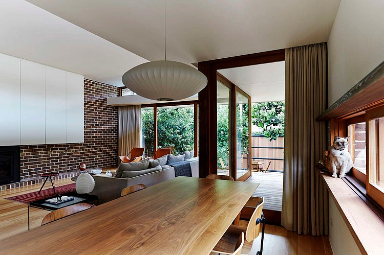 Dining Space, Neutral Bay House by Downie North Architects