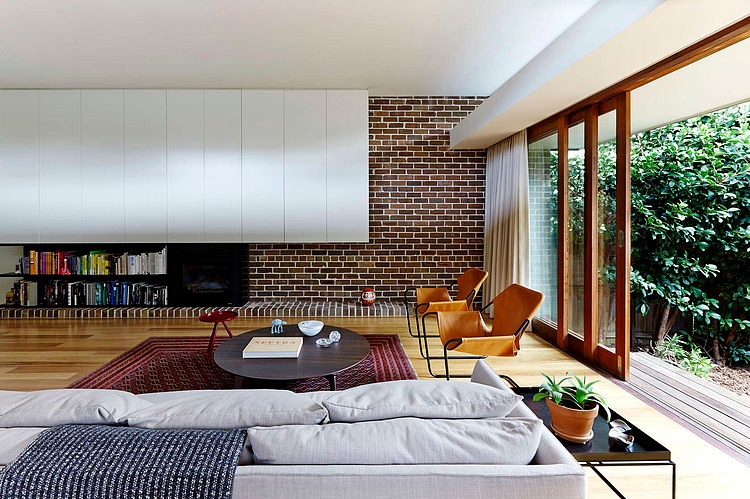 Living Room, Neutral Bay House by Downie North Architects