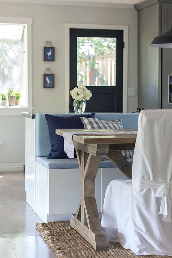 Breakfast nook, Jenna Sue Design