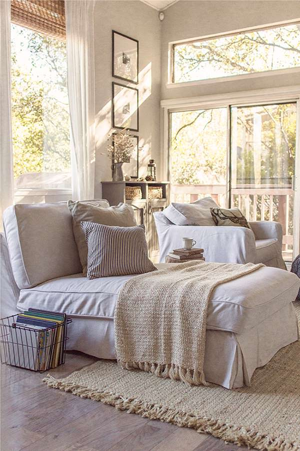 Cozy cottage, Reading Nook, Jenna Sue Design