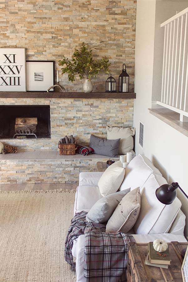 Cozy cottage living area, Jenna Sue Design