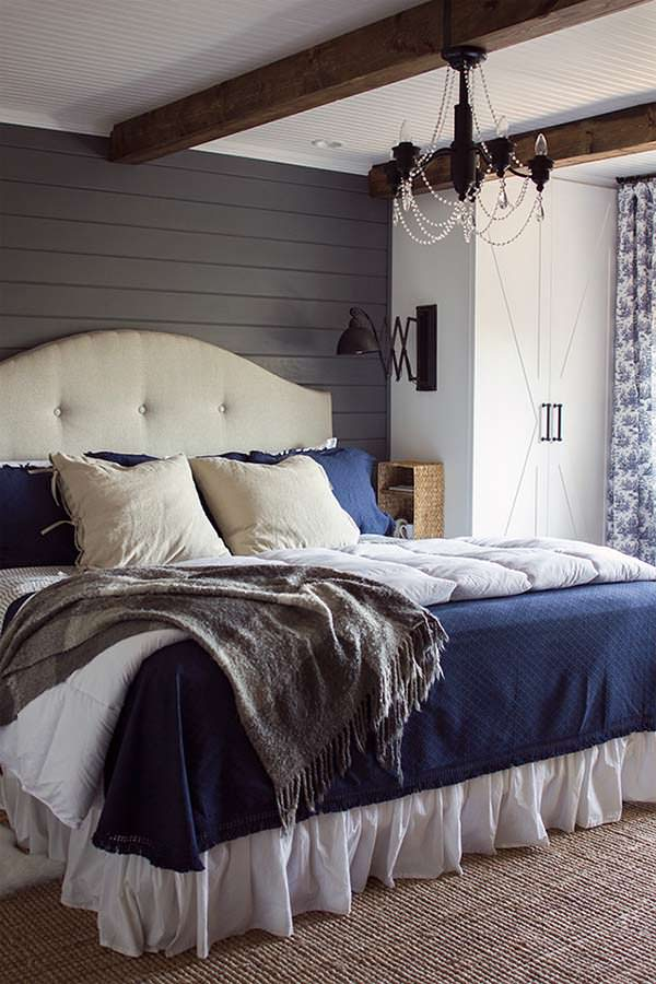 Dream bedroom, beautiful cottage, Jenna Sue Design