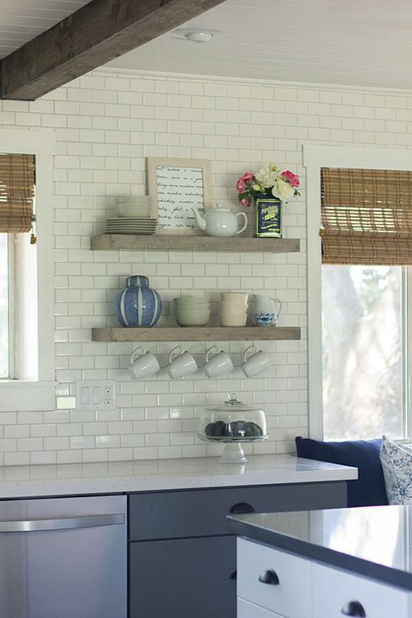 Kitchen shelving, Jenna Sue Design