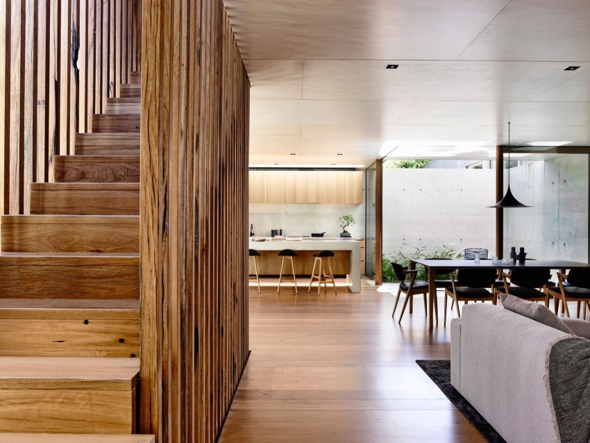 Living space, Staircases, 2016 Beach Avenue