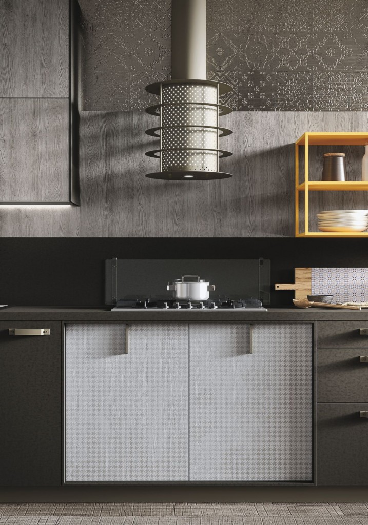 Contemporary and Indsutrial Kitchen