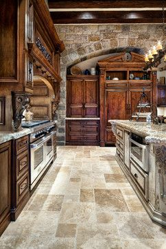 Dream kitchen, English Manor by Jauregui Architect