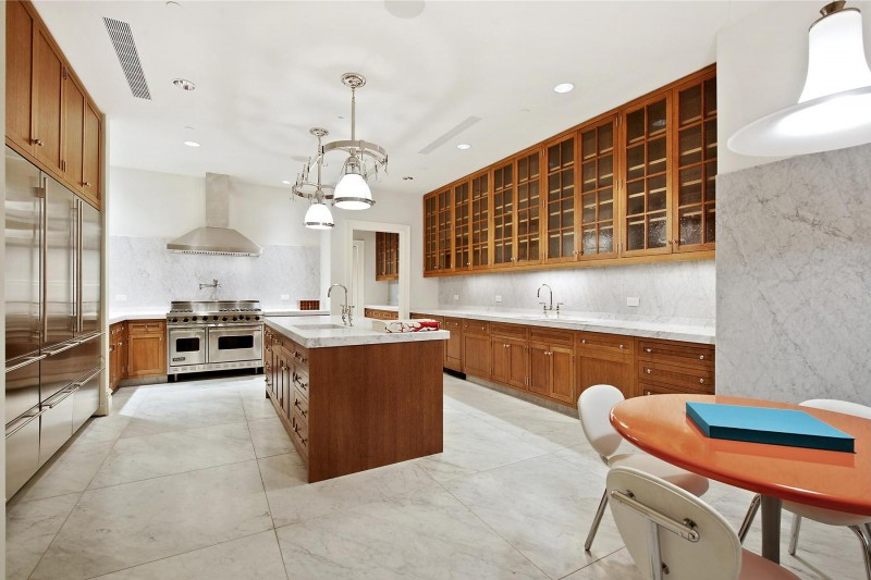 Large luxury kitchen, Luxury Marble House in Tribeca