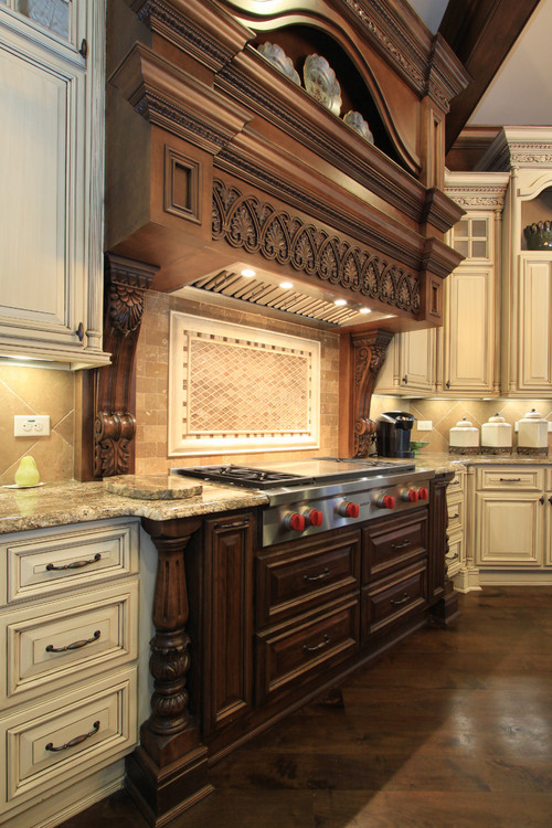 Luxury and French Style Kitchen by Alex Custom Homes