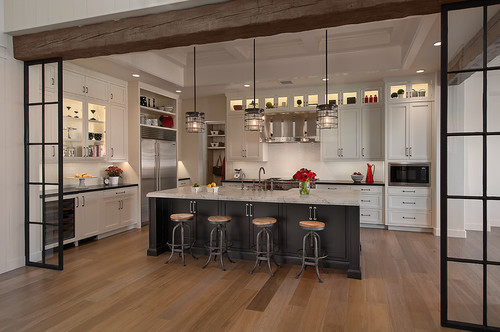 Luxury Large Kitchen By DeCesare Design Group
