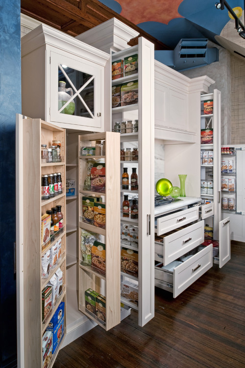 Beautiful storage for food spices and more, Kitchen Storage and Organization Ideas