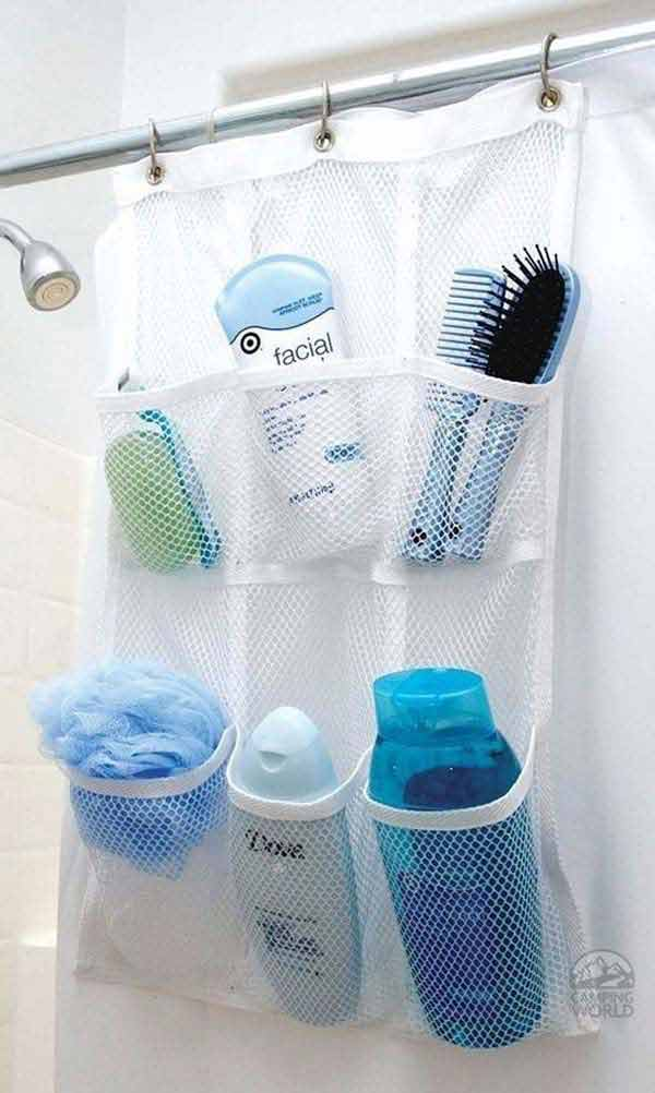 Clever Idea, Shower Pocket Storage