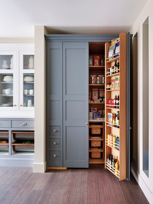 Unique Kitchen Storage Ideas Part - 32: Clever Kitchen Storage Solution And Pantry Idea!
