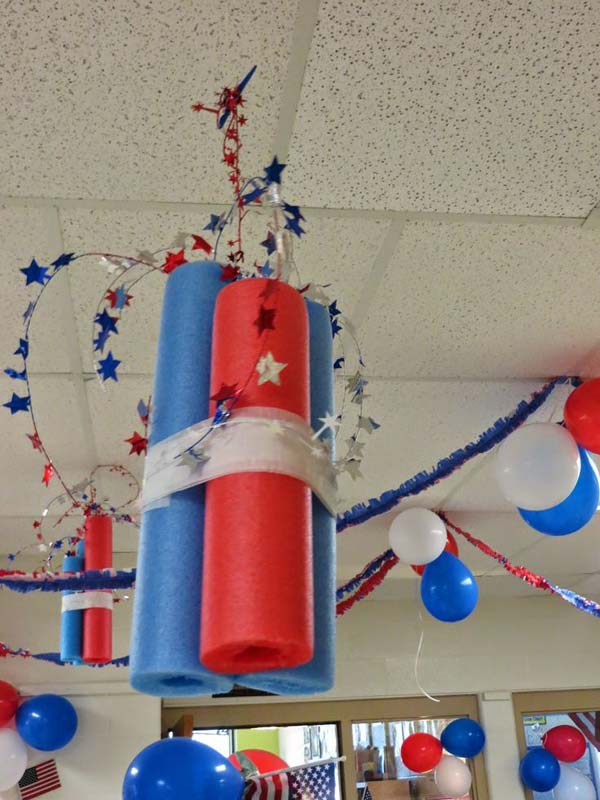 An amazing DIY pool noodle home decor project