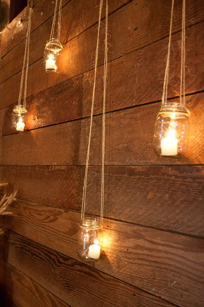 DIY Backyard Lighting Idea
