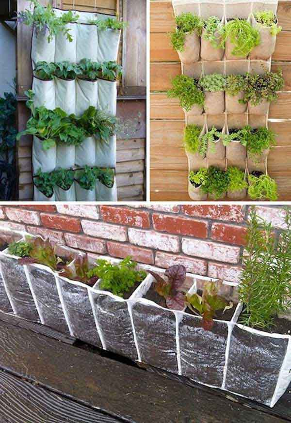 Vertical Vegetables – Shoe Holder