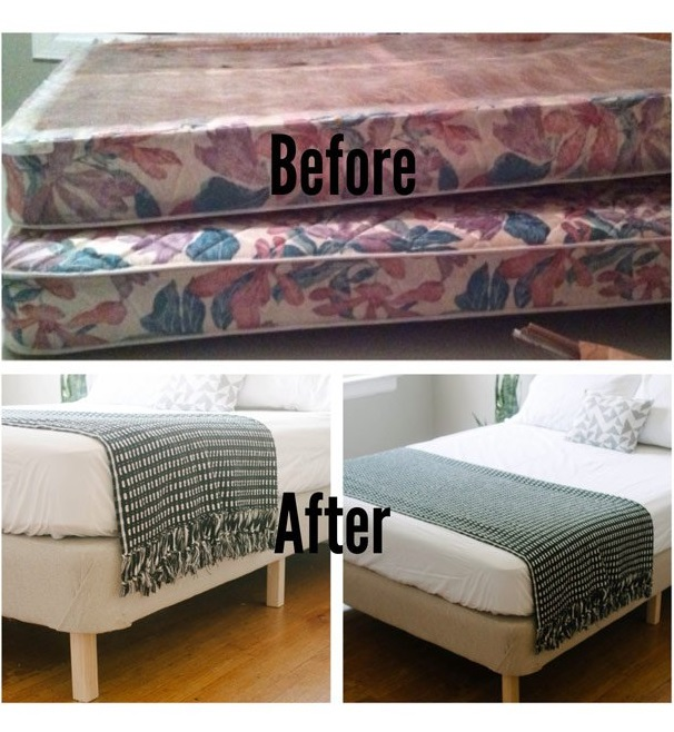 Top 10 diy platform beds platform bed ideas bed frame from a box spring diy solutioingenieria Images