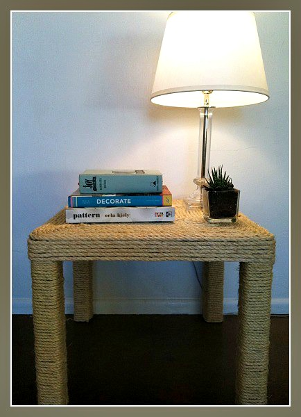 DIY Sisal Table
