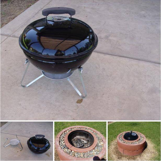 DIY $50 Concrete Tree Ring Firepit, DIY Fire Pit Ideas