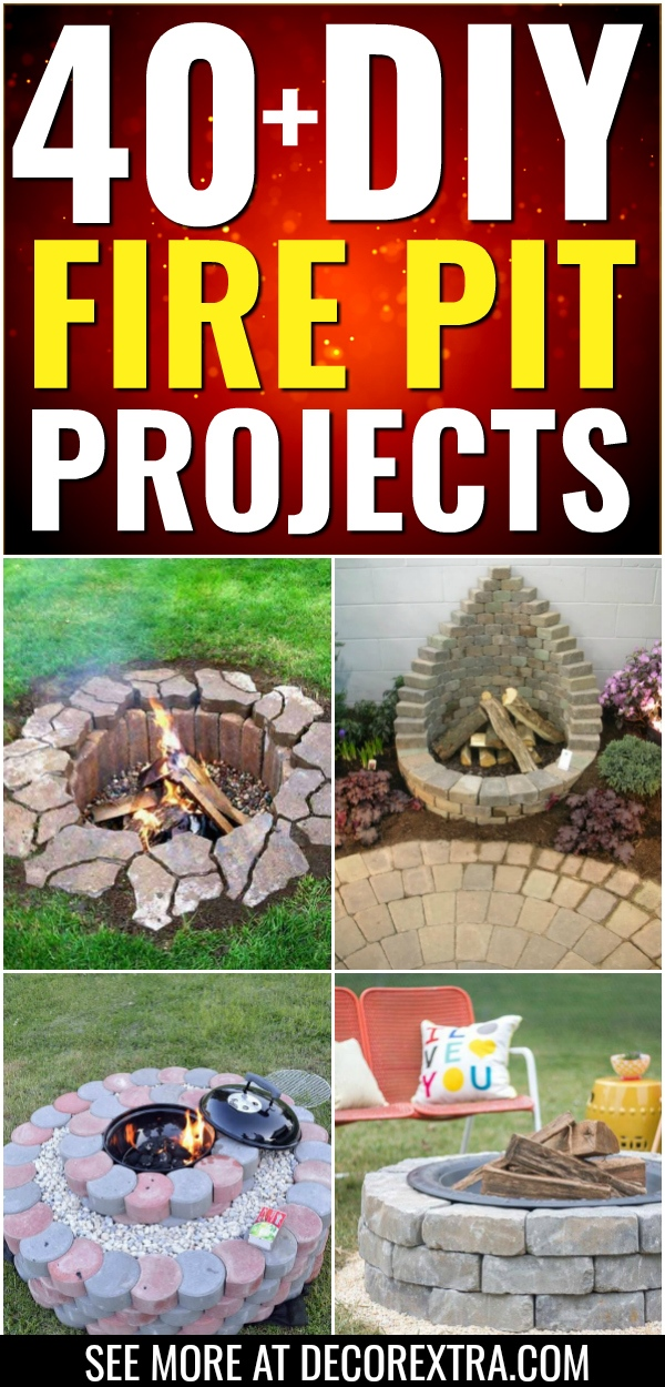 45+ Best DIY Fire Pit Ideas and Designs