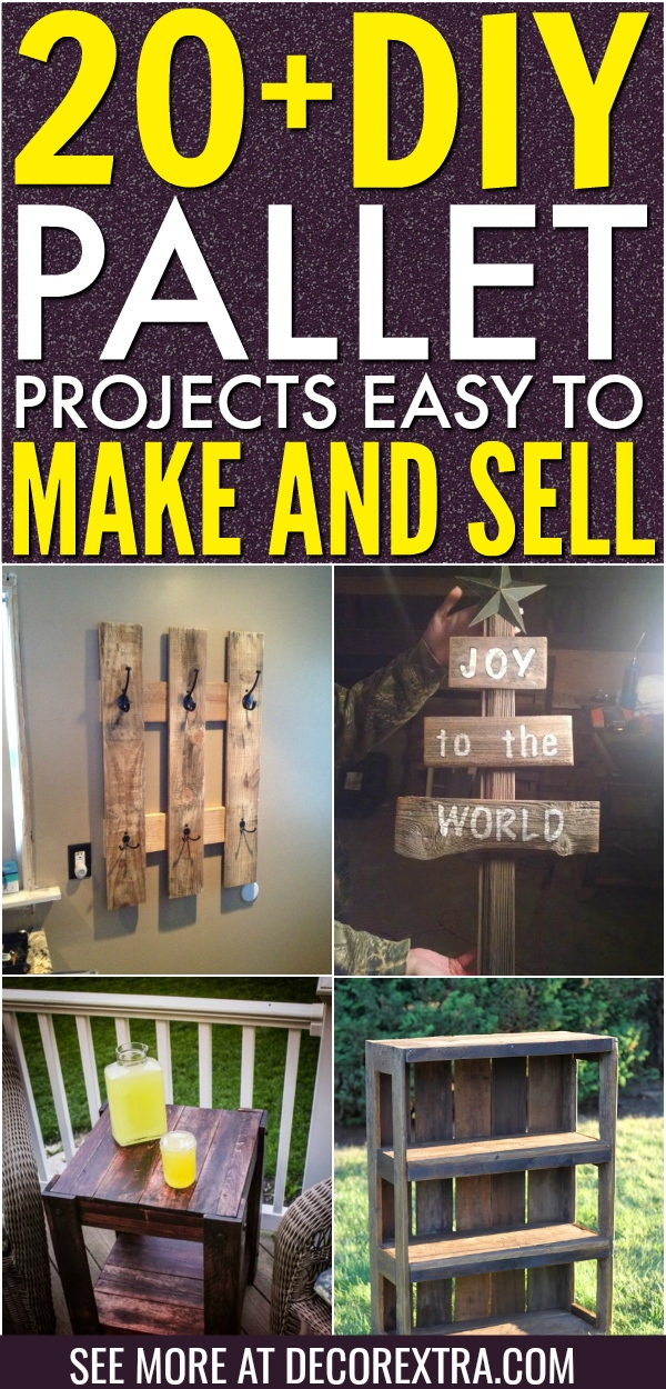 Phenomenal 20 Diy Pallet Projects That Are Easy To Make And Sell Home Interior And Landscaping Synyenasavecom