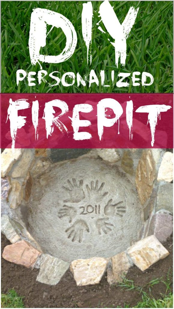 Amazing DIY Personalized Firepit, DIY Fire Pit Ideas