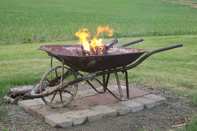 DIY Wheel Mobile Firepit, DIY Fire Pit Ideas