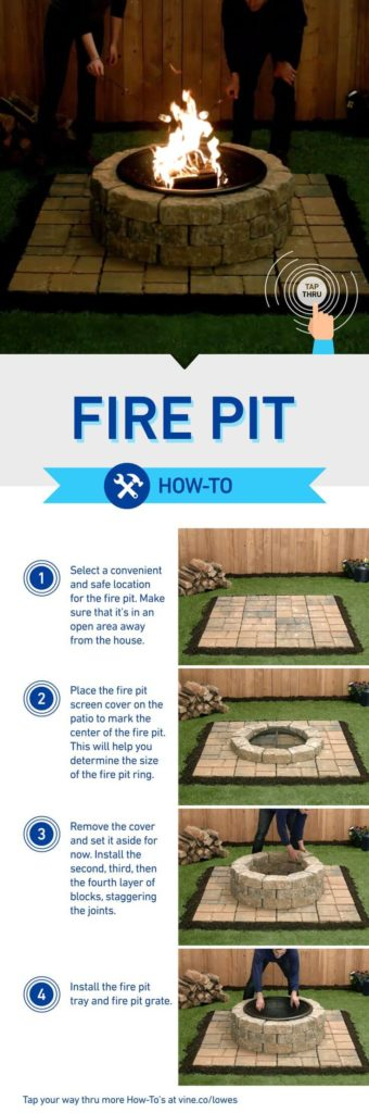 Do it yourself Stone Fire Pit, DIY Fire Pit Ideas