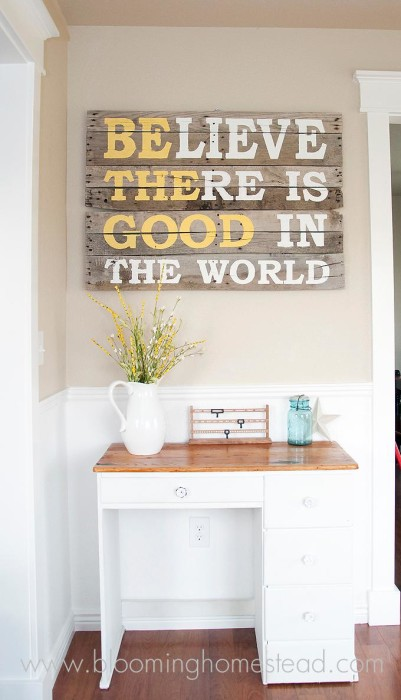 DIY Pallet Proejcts That Are Easy To Make And Sell Inspirational Sign