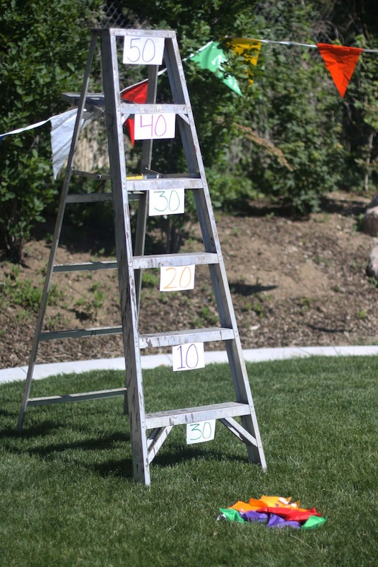Bean Bag Ladder Toss, DIY Backyard Games Perfect For Summer