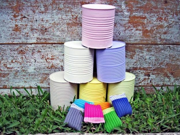 DIY Crazy Cans, DIY Backyard Games Perfect For Summer