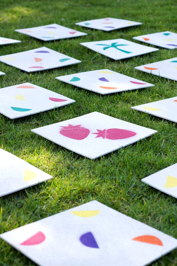 FUN DIY Giant Lawn Matching Game, DIY Backyard Games Perfect For Summer