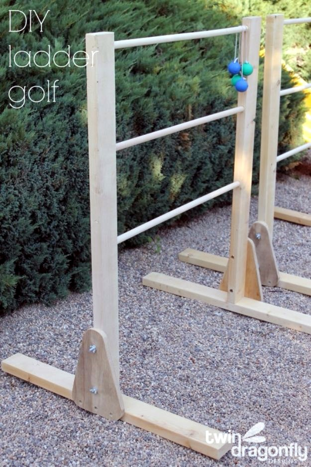 DIY Ladder Golf Game, DIY Backyard Games Perfect For Summer