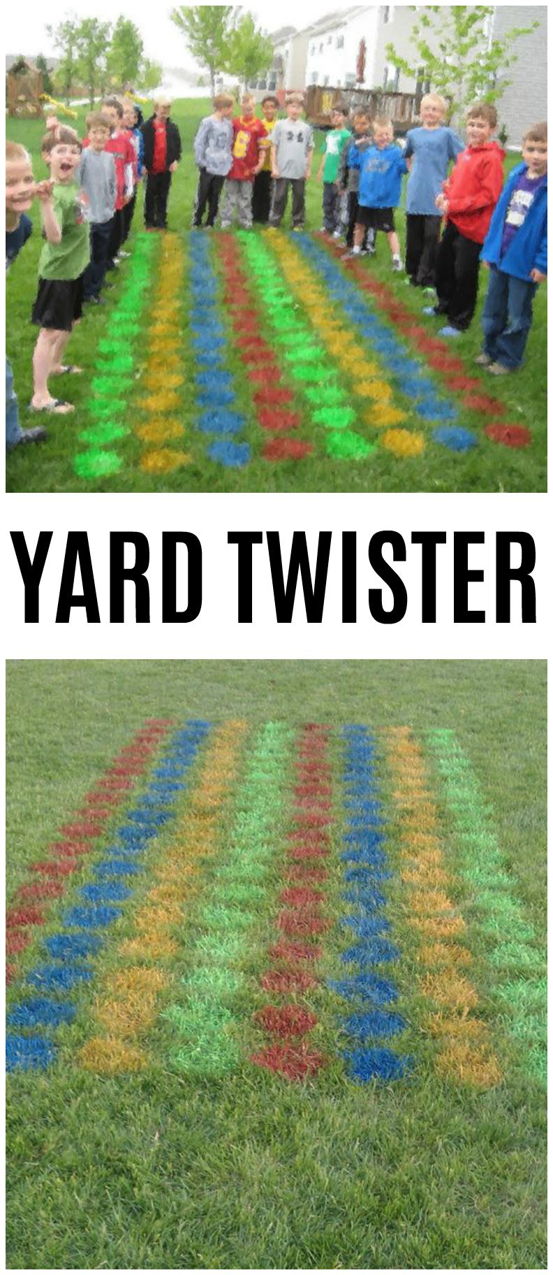 DIY Yard Twister, DIY Backyard Games Perfect For Summer