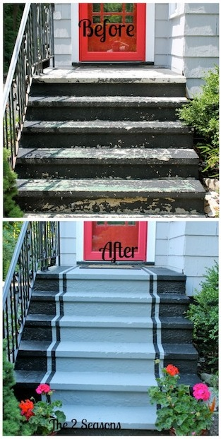 Front Steps Improvement Yard Landscaping Ideas And Projects