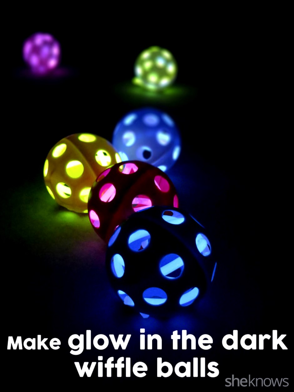 Glow in the Dark Wiffle Balls, Glow in the Dark Wiffle Balls