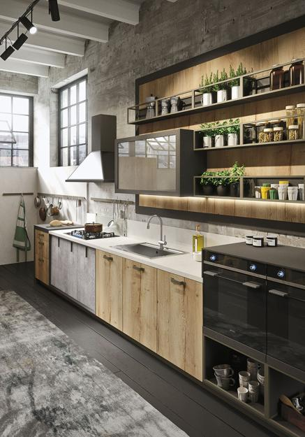 10 Amazing Industrial Kitchen Ideas That Will Make You Fall