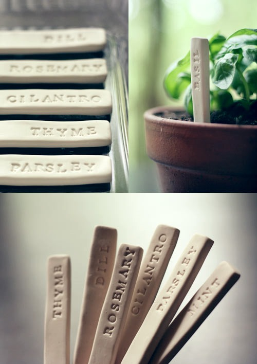 Simple DIY Garden Plant Markers, DIY Plant Label and Marker Ideas