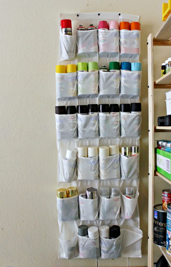 30+ BEST Garage Organization and Storage Ideas, Organize The Spraypaint