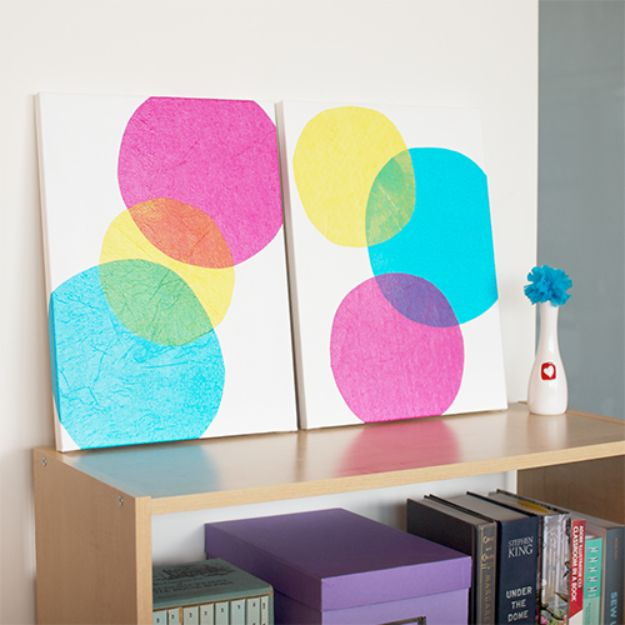 30+ Best DIY Wall Art Projects For Your Home, DIY Wall Art Bubbles