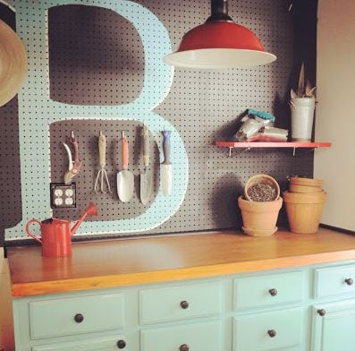 30+ BEST Garage Organization and Storage Ideas, Monogram Peg Board
