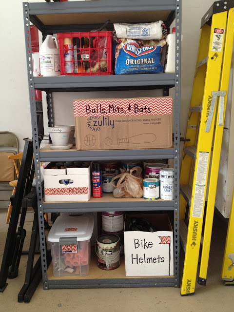 30+ BEST Garage Organization and Storage Ideas, Use Washi Tape to Make Labels